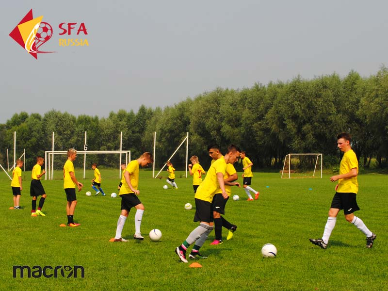 Летние футбольные сборы SFA 2016 в Бронницах
