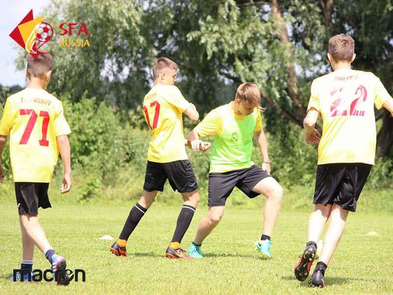 Летние футбольные сборы SFA 2017 в Бронницах