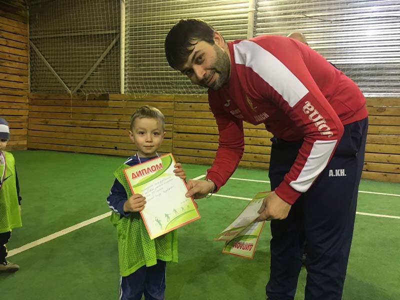 Футбольная Школа Академии Испании в Владикавказе